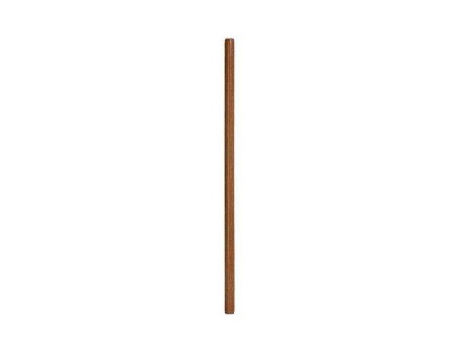 Jo - dřevěná hůl - hnědá - 128 cm