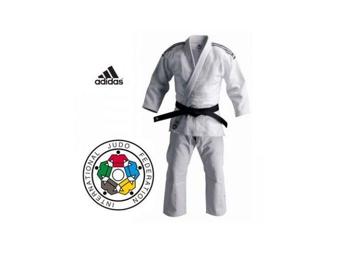 Bílé kimono na judo IJF CHAMPION II 2017 Regular