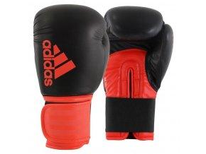 181016 box rukavice adidas hybrid 100 cierno cervene