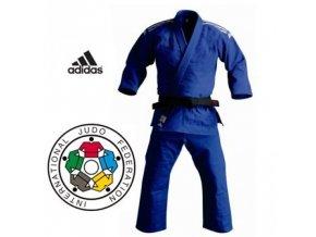Modré kimono na judo IJF CHAMPION II Regular